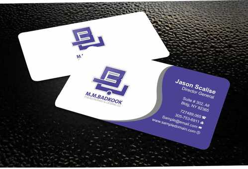 M.M.Badkook for Restaurant & Catering Co. Business Cards and Stationery  Draft # 160 by Dawson