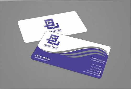 M.M.Badkook for Restaurant & Catering Co. Business Cards and Stationery  Draft # 164 by Dawson