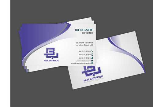 M.M.Badkook for Restaurant & Catering Co. Business Cards and Stationery  Draft # 165 by Dawson