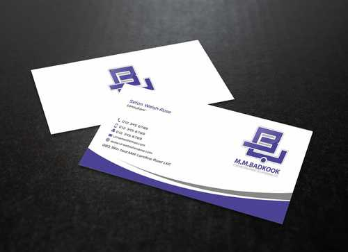 M.M.Badkook for Restaurant & Catering Co. Business Cards and Stationery  Draft # 167 by Dawson