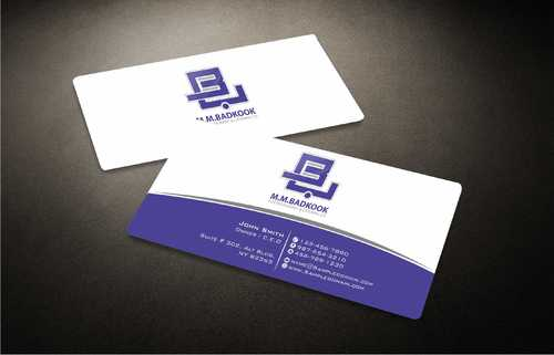 M.M.Badkook for Restaurant & Catering Co. Business Cards and Stationery  Draft # 168 by Dawson