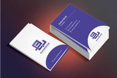 M.M.Badkook for Restaurant & Catering Co. Business Cards and Stationery  Draft # 171 by Dawson