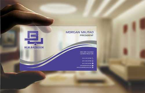 M.M.Badkook for Restaurant & Catering Co. Business Cards and Stationery  Draft # 174 by Dawson