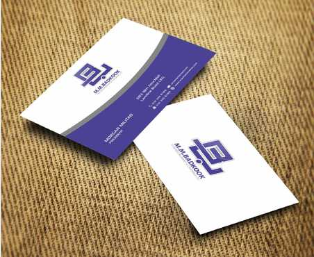 M.M.Badkook for Restaurant & Catering Co. Business Cards and Stationery  Draft # 178 by Dawson