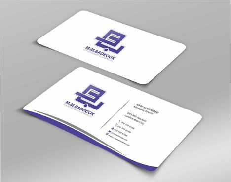 M.M.Badkook for Restaurant & Catering Co. Business Cards and Stationery  Draft # 181 by Dawson