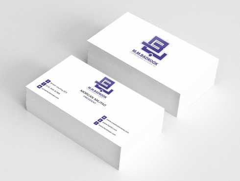 M.M.Badkook for Restaurant & Catering Co. Business Cards and Stationery  Draft # 182 by Dawson