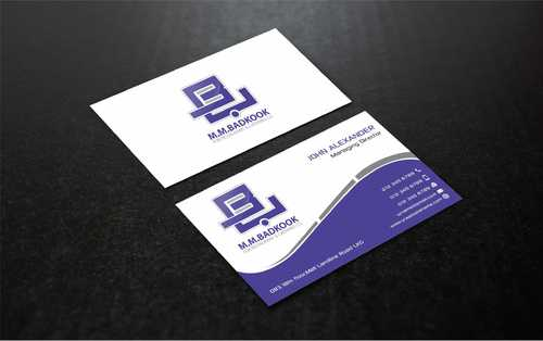 M.M.Badkook for Restaurant & Catering Co. Business Cards and Stationery  Draft # 183 by Dawson