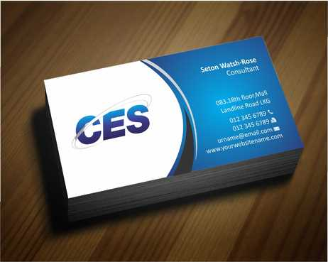 CES and 3D Environmental Business Cards and Stationery  Draft # 122 by Dawson