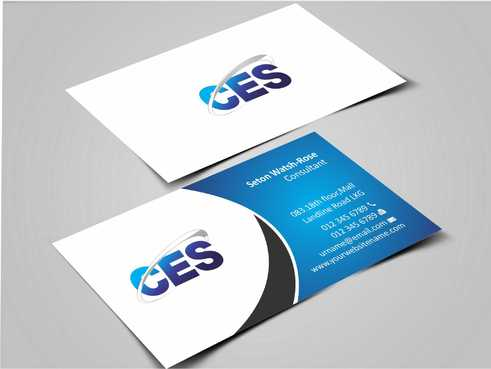 CES and 3D Environmental Business Cards and Stationery  Draft # 123 by Dawson