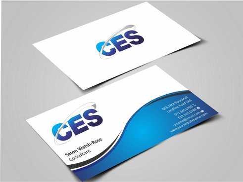 CES and 3D Environmental Business Cards and Stationery  Draft # 124 by Dawson