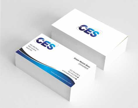 CES and 3D Environmental Business Cards and Stationery  Draft # 125 by Dawson