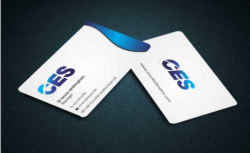 CES and 3D Environmental Business Cards and Stationery  Draft # 127 by Dawson