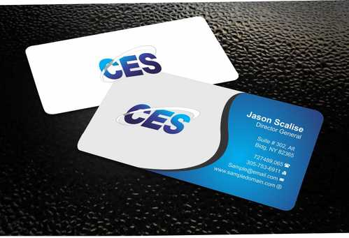 CES and 3D Environmental Business Cards and Stationery  Draft # 128 by Dawson