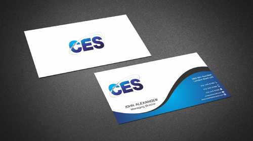 CES and 3D Environmental Business Cards and Stationery  Draft # 129 by Dawson