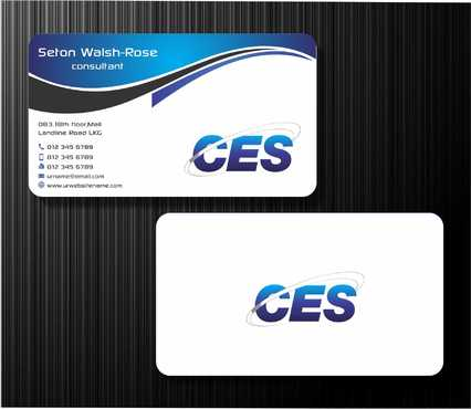 CES and 3D Environmental Business Cards and Stationery  Draft # 133 by Dawson