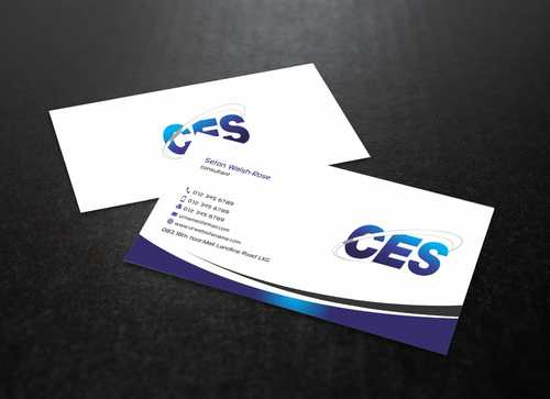 CES and 3D Environmental Business Cards and Stationery  Draft # 134 by Dawson