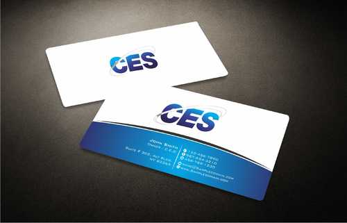 CES and 3D Environmental Business Cards and Stationery  Draft # 135 by Dawson
