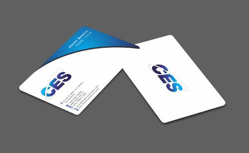 CES and 3D Environmental Business Cards and Stationery  Draft # 137 by Dawson