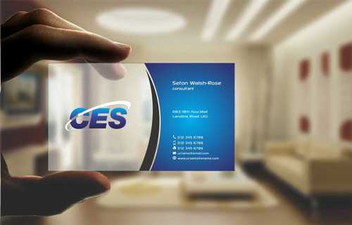 CES and 3D Environmental Business Cards and Stationery  Draft # 138 by Dawson