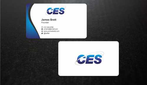 CES and 3D Environmental Business Cards and Stationery  Draft # 140 by Dawson