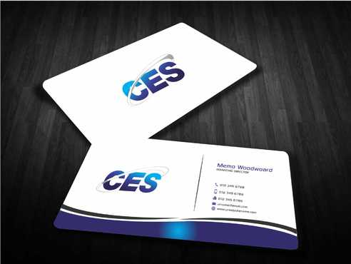 CES and 3D Environmental Business Cards and Stationery  Draft # 141 by Dawson