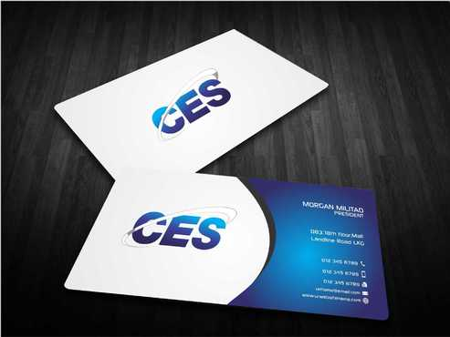 CES and 3D Environmental Business Cards and Stationery  Draft # 144 by Dawson