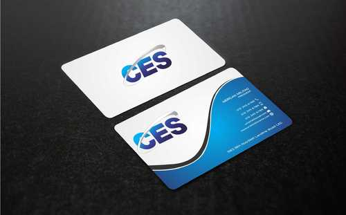 CES and 3D Environmental Business Cards and Stationery  Draft # 145 by Dawson