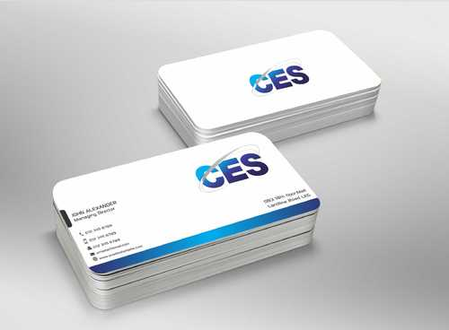 CES and 3D Environmental Business Cards and Stationery  Draft # 147 by Dawson