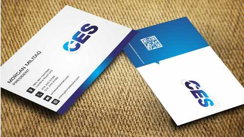 CES and 3D Environmental Business Cards and Stationery  Draft # 150 by Dawson