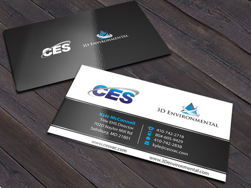 CES and 3D Environmental Business Cards and Stationery  Draft # 159 by Xpert