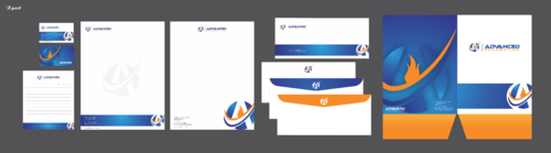 Advanced Foundation Business Cards and Stationery  Draft # 2 by Xpert