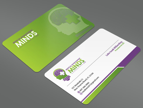 Medical Management Minds, LLC Business Cards and Stationery  Draft # 53 by ArtworksKingdom