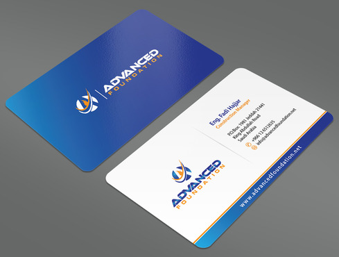 Advanced Foundation Business Cards and Stationery  Draft # 8 by ArtworksKingdom