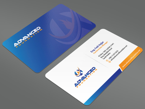 Advanced Foundation Business Cards and Stationery  Draft # 14 by ArtworksKingdom