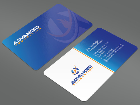 Advanced Foundation Business Cards and Stationery  Draft # 16 by ArtworksKingdom