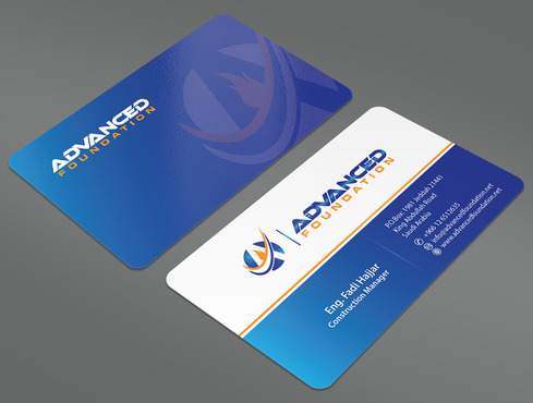 Advanced Foundation Business Cards and Stationery  Draft # 18 by ArtworksKingdom