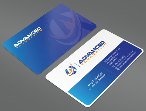 Advanced Foundation Business Cards and Stationery  Draft # 19 by ArtworksKingdom
