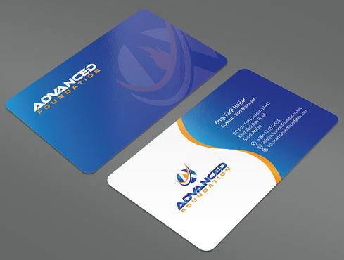 Advanced Foundation Business Cards and Stationery  Draft # 20 by ArtworksKingdom