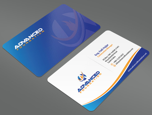 Advanced Foundation Business Cards and Stationery  Draft # 21 by ArtworksKingdom