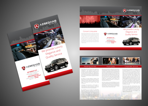 AZ SEDANS BROCHURES Marketing collateral  Draft # 16 by Kaiza