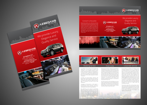 AZ SEDANS BROCHURES Marketing collateral  Draft # 17 by Kaiza