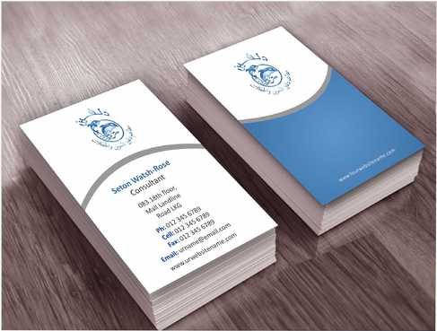 Dolphin Catering Business Cards and Stationery  Draft # 190 by Dawson