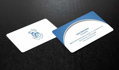 Dolphin Catering Business Cards and Stationery  Draft # 193 by Dawson