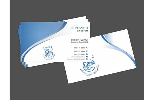 Dolphin Catering Business Cards and Stationery  Draft # 205 by Dawson