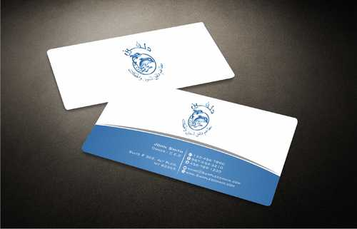 Dolphin Catering Business Cards and Stationery  Draft # 207 by Dawson