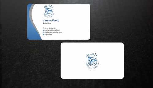 Dolphin Catering Business Cards and Stationery  Draft # 213 by Dawson