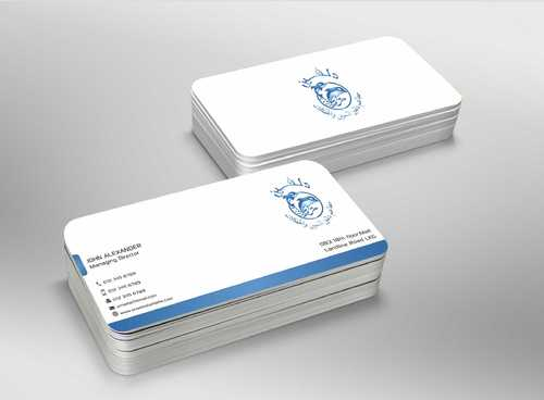 Dolphin Catering Business Cards and Stationery  Draft # 219 by Dawson