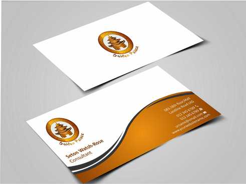 Golden Palace Restaurant Business Cards and Stationery  Draft # 220 by Dawson