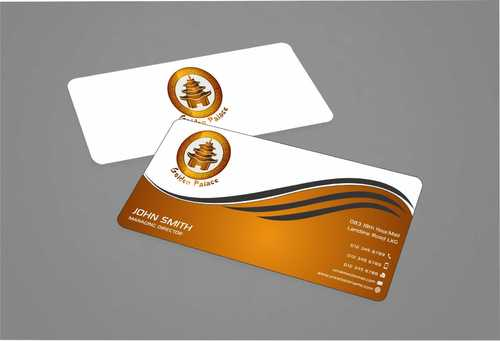 Golden Palace Restaurant Business Cards and Stationery  Draft # 227 by Dawson