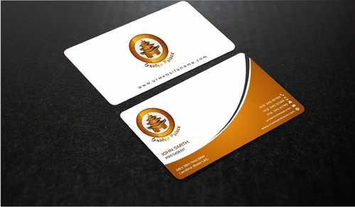 Golden Palace Restaurant Business Cards and Stationery  Draft # 232 by Dawson